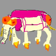 Tandem-Kriegselefant